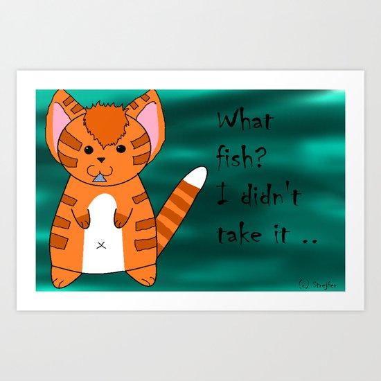 What fish ? Art Print