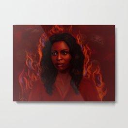 To Love Is To Burn Metal Print