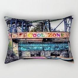 The Cool Zone, Landscape Portrait by Jeanpaul Ferro Rectangular Pillow