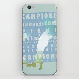Campioni Del Mondo iPhone Skin