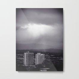 Breaking The Storm Metal Print