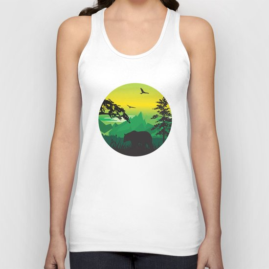 My Nature Collection No. 43 Unisex Tank Top