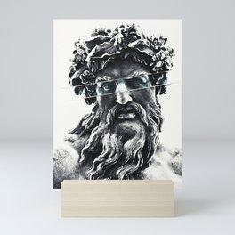 Zeus the king of gods Mini Art Print