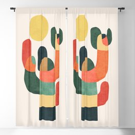 Cactus in the desert Blackout Curtain
