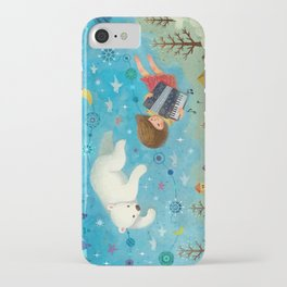 Travel the night sky iPhone Case