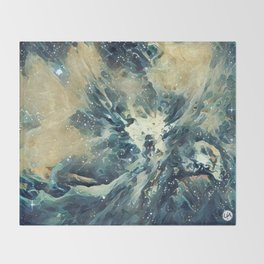 ALTERED Sharpest View of Orion Nebula Throw Blanket