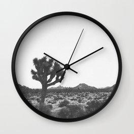 JOSHUA TREE / California Wall Clock