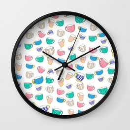 A Cup for Me a Cup for You Wall Clock