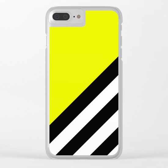 Sunshine Zebra Clear iPhone Case