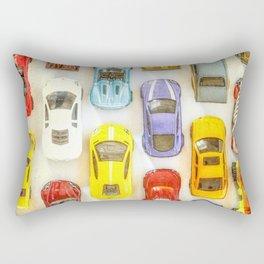 Vintage Toy Cars Rectangular Pillow
