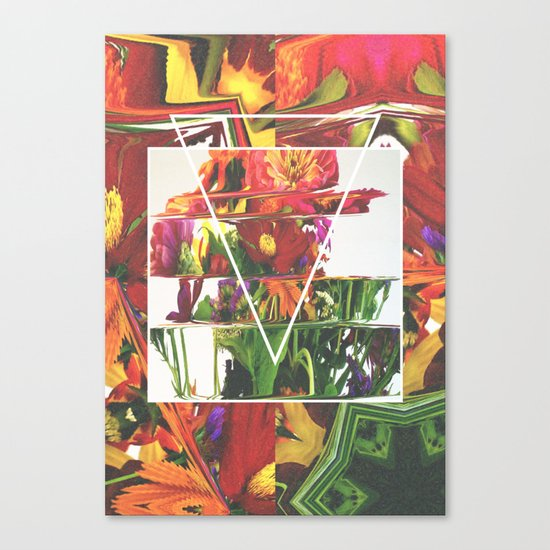 Fake Flowers Canvas Print