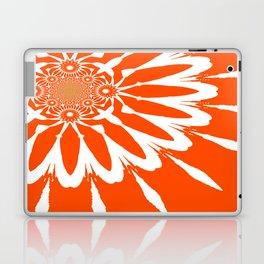 The Modern Flower Orange Laptop & iPad Skin