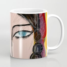 Bipolar portrait Coffee Mug