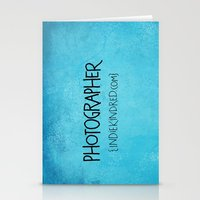 photographer Stationery Cards featuring Photographer by Indie Kindred