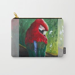 "Aras parrot - ""A morning like the others"" - by LiliFlore Carry-All Pouch"