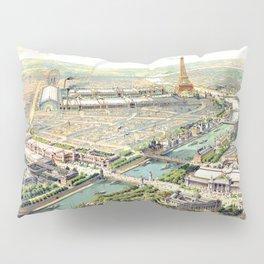 Paris World Fair 1900 Pillow Sham
