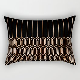 Art Deco No. 1 Quinn Rectangular Pillow