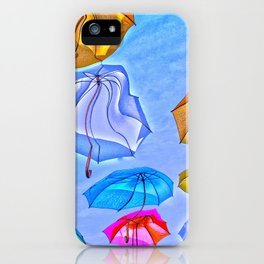 Rain on Me iPhone Case