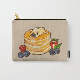 Pug Pancake Carry-All Pouch