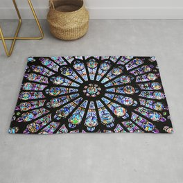 Cathedral Stained Glass Rug