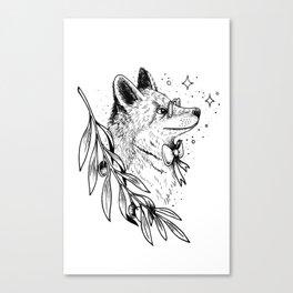 Inspire fox Canvas Print