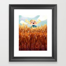 In The Fields Framed Art Print