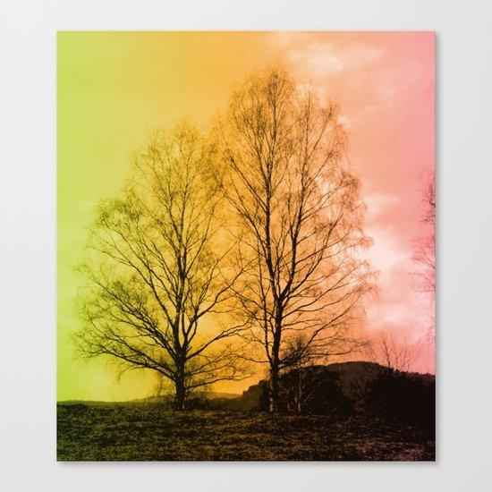 Warm Glow  - JUSTART © Canvas Print