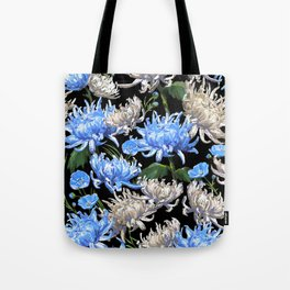 Blue Mums Design — L Diane Johnson Tote Bag