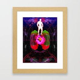 HERO ARMOUR Framed Art Print