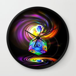Dice  Game 3 Wall Clock