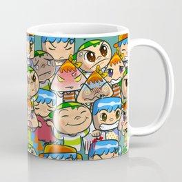character of sticker line Coffee Mug