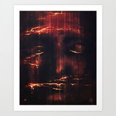 Red II Art Print