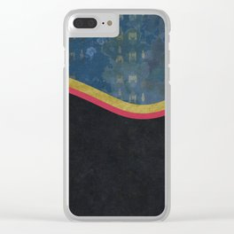 wave three Clear iPhone Case