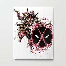 Dead P. Metal Print