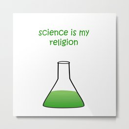 science green Metal Print