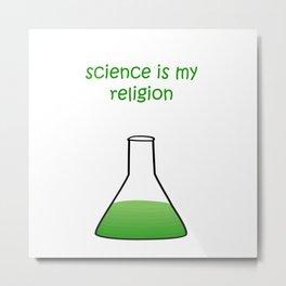 science green Metal Print