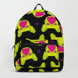 french bulldog - blk pattern Backpack
