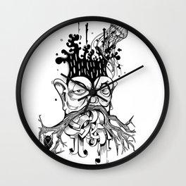 Nerd tree Wall Clock