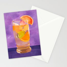 Butterfly Fish Tea by Kenzie McFeely Stationery Cards