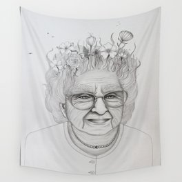 The Old Woman Wall Tapestry