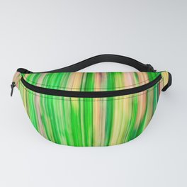 Blurred abstract tropical bamboo forest Fanny Pack