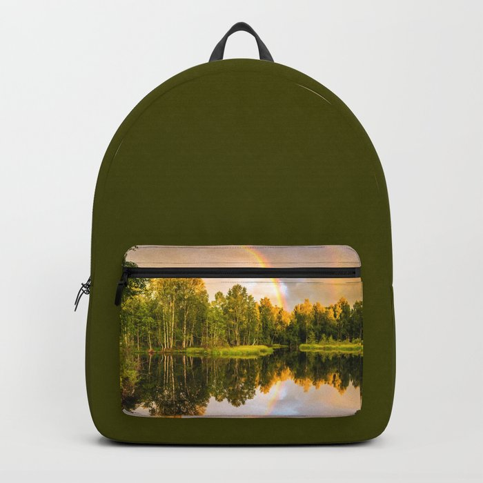 Rainbows: The gift from heaven to us all Backpack