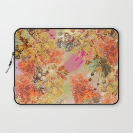 AUTUMN IN THE PARK - Botanical Collage Laptop Sleeve