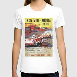 Mille Miglia, Race Poster, Vintage Poster, car poster T-shirt