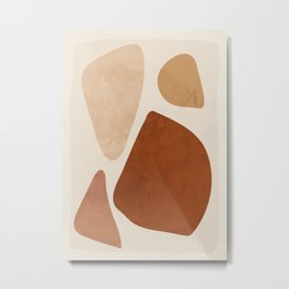 Abstract Shapes 47 Metal Print