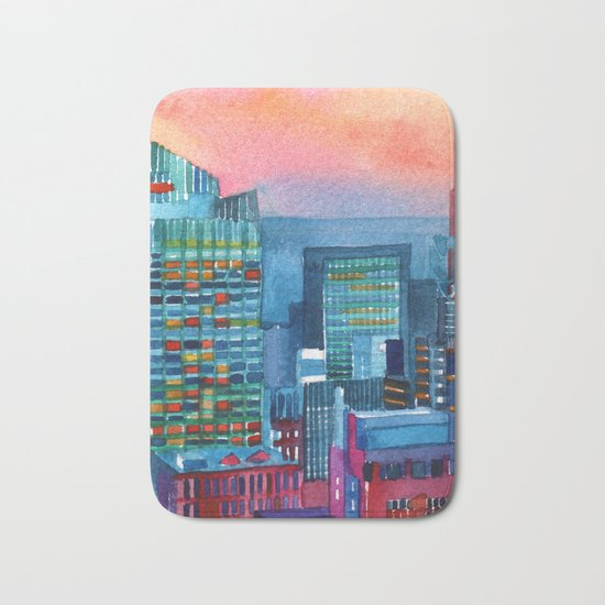 New York buildings vol2 Bath Mat