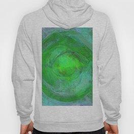 Mandala Abstract Green and Blue Design 715 Hoody