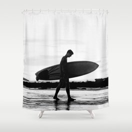 Surf Boy Shower Curtain