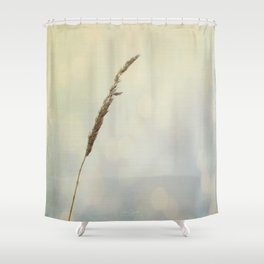 Reflections of a Summer Lake Shower Curtain
