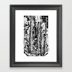 'The trees stir with noises of women who have lost themselves' Framed Art Print